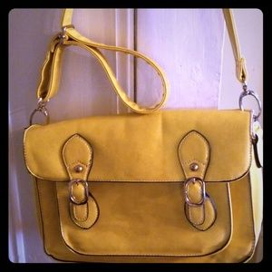 Orange Carmel purse